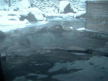 以前の露天風呂