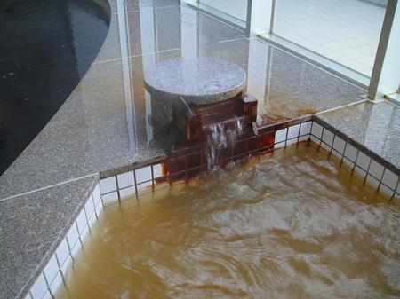 洋風・旭の湯湯口