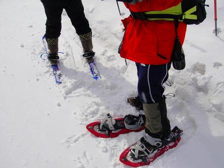 スノーシューと簡単スキー
