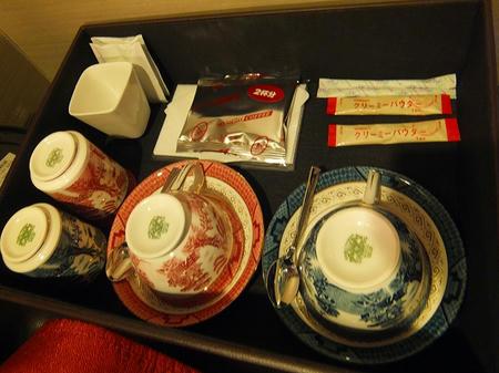 統一された茶器