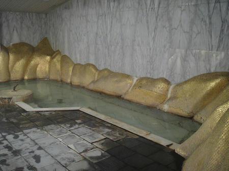 手前の湯船