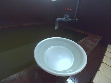 新鮮なお湯