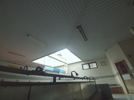 洗い場と天井