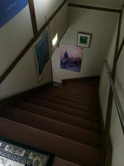 部屋は2階