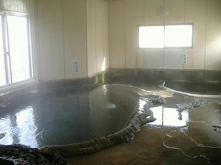 硫黄泉と食塩泉