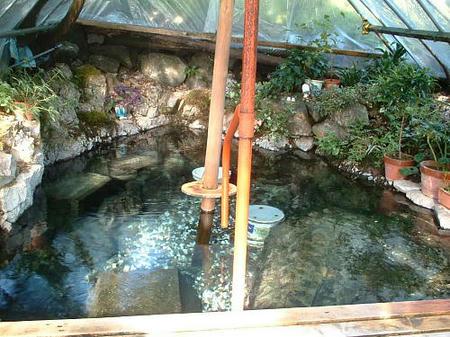 在りし日の露天風呂