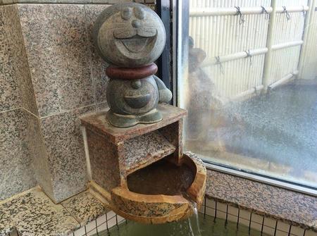 内湯の湯口