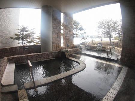 2つの露天風呂