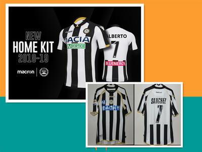 purchase cheap 42199 7341a fake cheap 2018/19 Udinese Calcio Home, Away,Third shirts ...