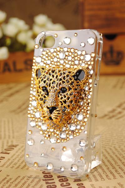 豹柄iphoneカバー