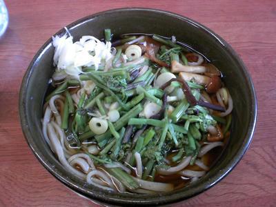 山菜蕎麦@宮川