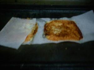 取り出した直後のチーズズ