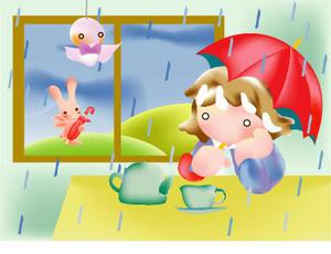 「雨と紅茶」