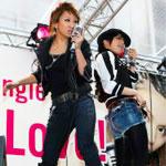 「倖田來未×misono」初の街頭ゲリラライブ