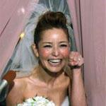 梨花、幸せ挙式!「ふたりで泣いちゃった」