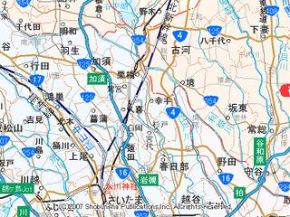 過酷な5県越境ツアー(1)