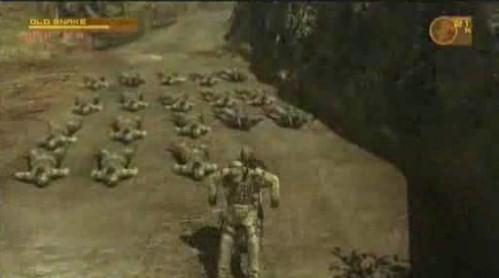 メタルギアソリッド 4で敵を何人表示できるか?
