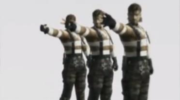 メタルギアソリッド 3のスネークとボスの対決シーンをジャンケンに替えてみる