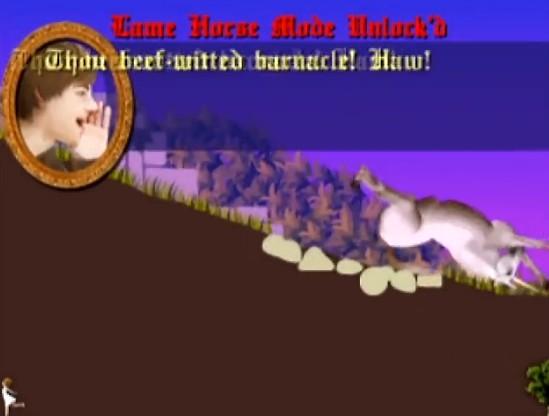 ブラウザゲーム「CLOP」。馬を女性の元まで駆けるという単純なゲームのはずが難しすぎて笑えるw
