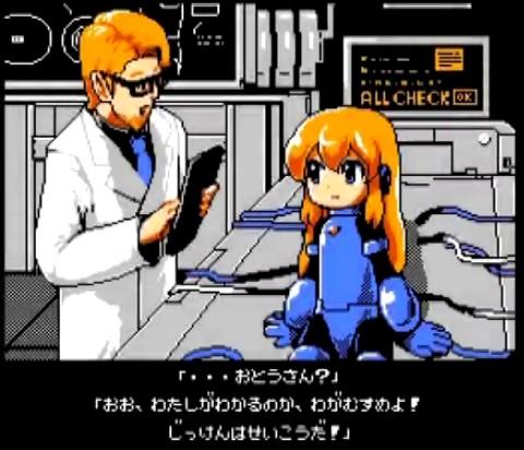 『実況プレイ動画』ロックマンじゃない。ロッコちゃん。FALSHパロディゲーム