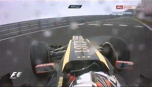 キミ・ライコネンがレース中に迷子。2012年ブラジルGP