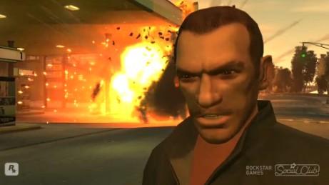 Grand Theft Auto 4で現実にはできないイタズラをする。