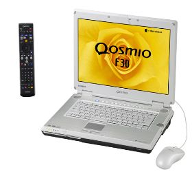 東芝 15.4型ワイド液晶ディスプレイ搭載ノートパソコン dynabook Qosmio F30/ 770LS 『PQF30770LSL』