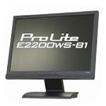 iiyama 22インチワイド液晶ディスプレイ ブラック ProLite 『PLE2200WS-B1』