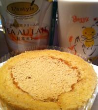 プレミアム紅茶のロールケーキ