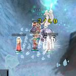 久々の氷の洞窟