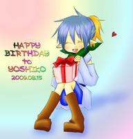 よし子さんお誕生日おめでとうご御座いました!