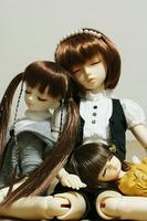 眠り3人娘。
