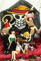 海賊旗はバンダナさ。