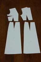 ワンピース型紙。