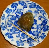 烏龍茶で煮た梅