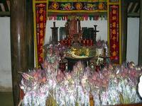 ホーチミンの両親の祭壇