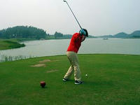 kさんゴルフデビュー