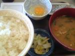 銚子すきや納豆朝食