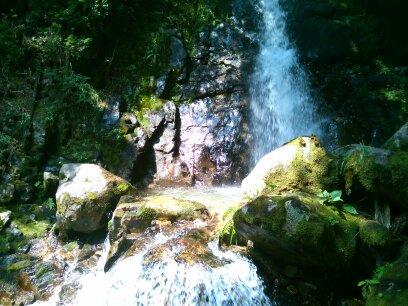 阿寺渓谷 六段の滝