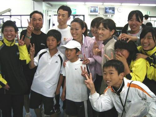 有森裕子さんと記念写真