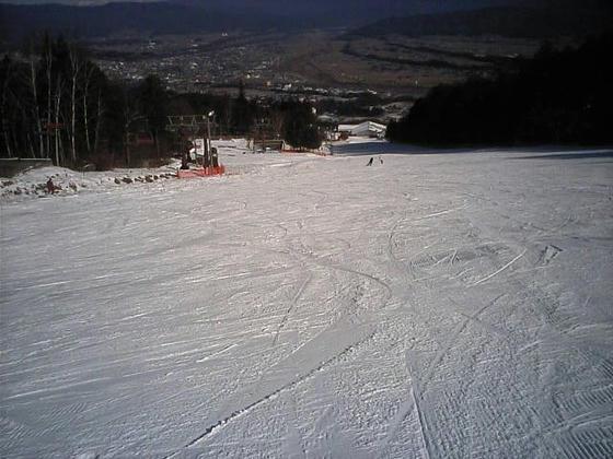 13:10 本日滑走可能なドリームC。全長700m
