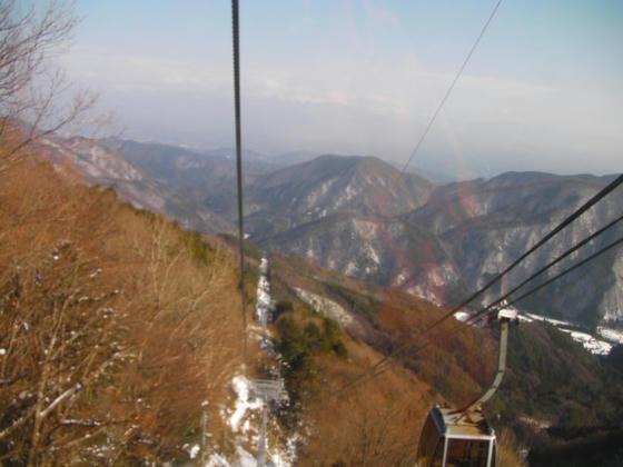 13:17 ゴンドラ下山風景