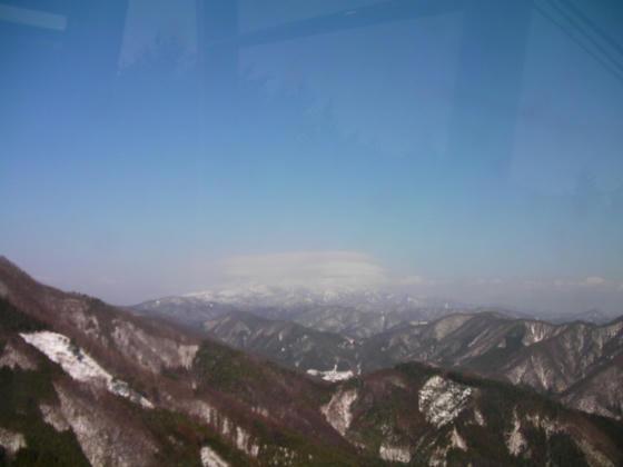 13:19 下山ゴンドラ風景(中央アルプス)