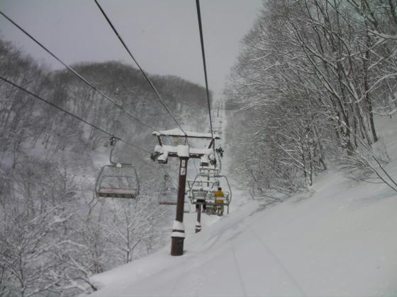 921 ハンの木第2Q。いい感じの新雪です