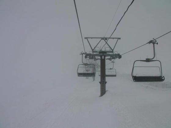 916 グラートクワッドは途中から霧に突入