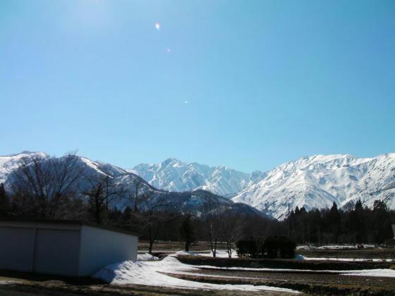 1421 五竜岳方向