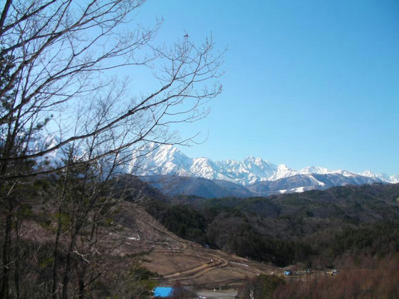 1505 鹿島槍ヶ岳が正面に見え、なかなかのロケーションです