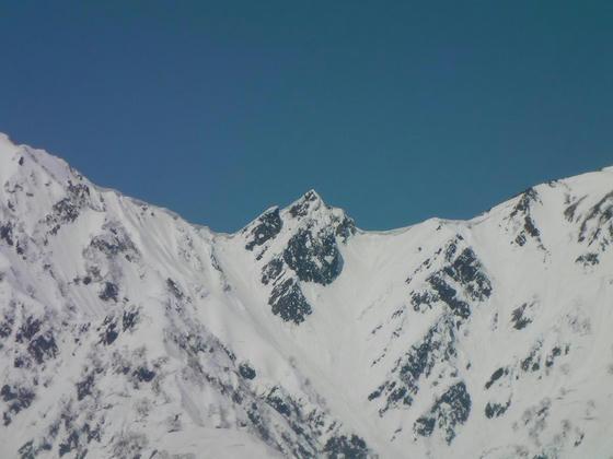 1034 五竜と唐松の中間にある大黒岳2393m