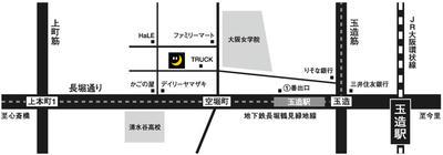 ツキトギャラリーmap