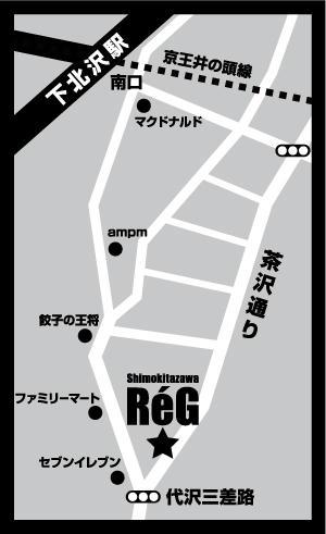 ReGBoxの地図